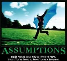Assuming Assumptions 1