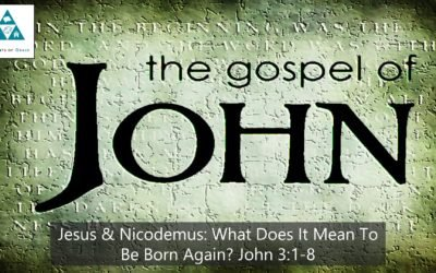 #16: Jesus and Nicodemus: What Does it Mean to Be Born Again?[Sermon]