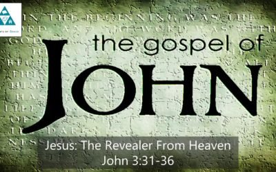 #19: Jesus: The Revealer From Heaven[Sermon]
