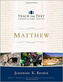 Review of Matthew Commentary In Teach the Text Commentary Series