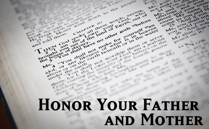Honor Your Father and Mother 1