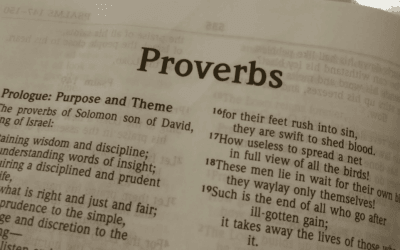 The Gospel Beginning in Proverbs