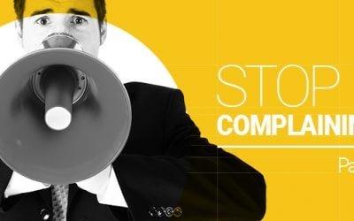 Jeremiah Johnson – Stop Complaining (Part 2)