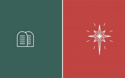 How Christmas Cuts History in Half