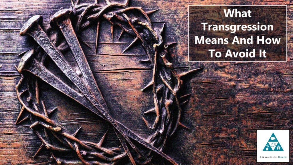 What Transgression Means And How To Avoid It 1