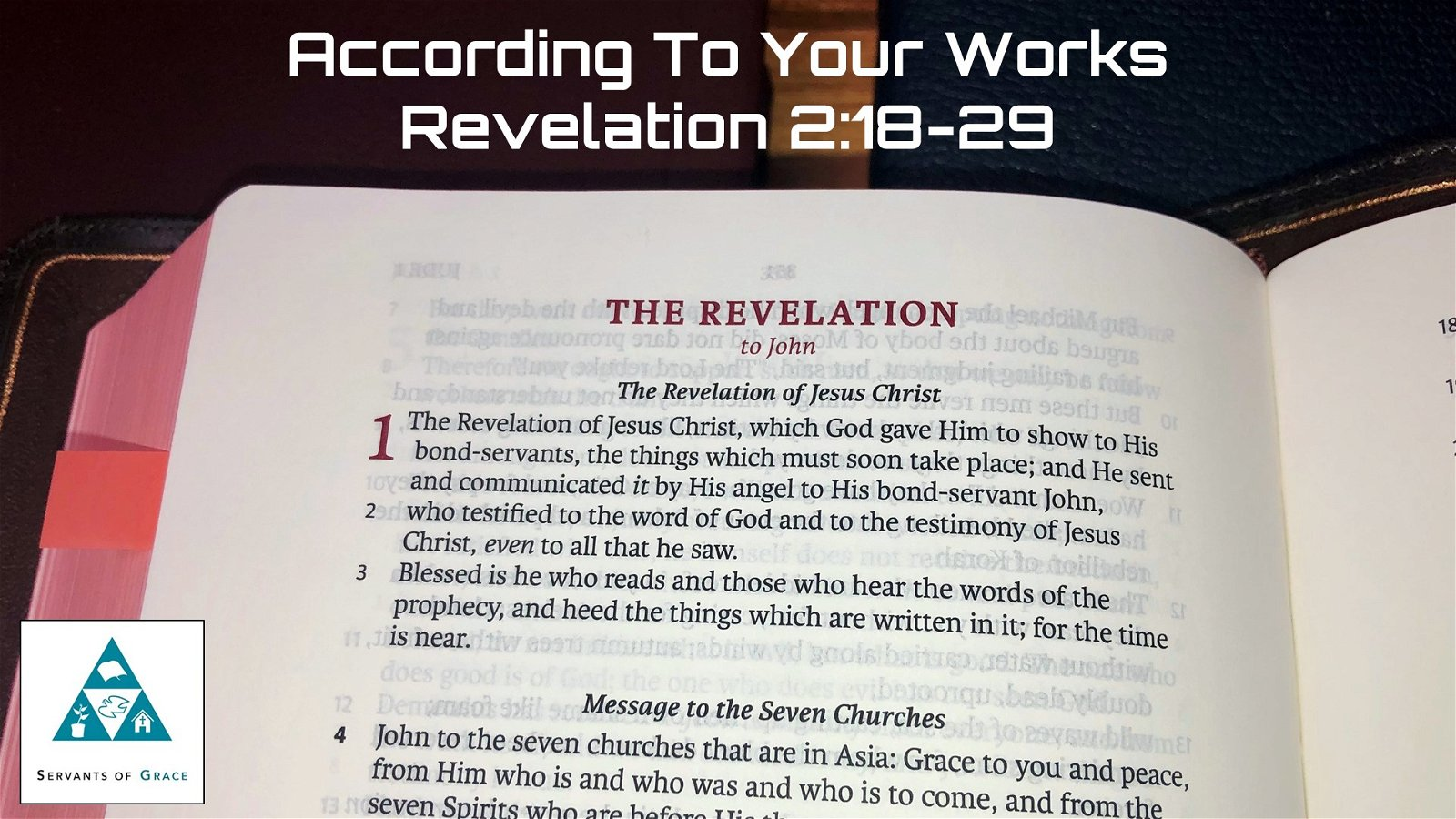 #12: According to Your Works[Sermon] 1