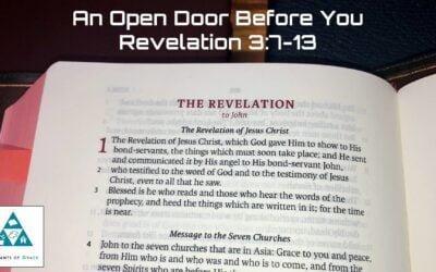 #14: An Open Door Before You[Sermon]
