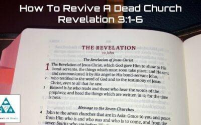 #13: How to Revive a Dead Church[Sermon]