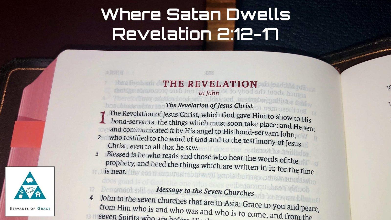#11: Where Satan Dwells[Sermon] 1