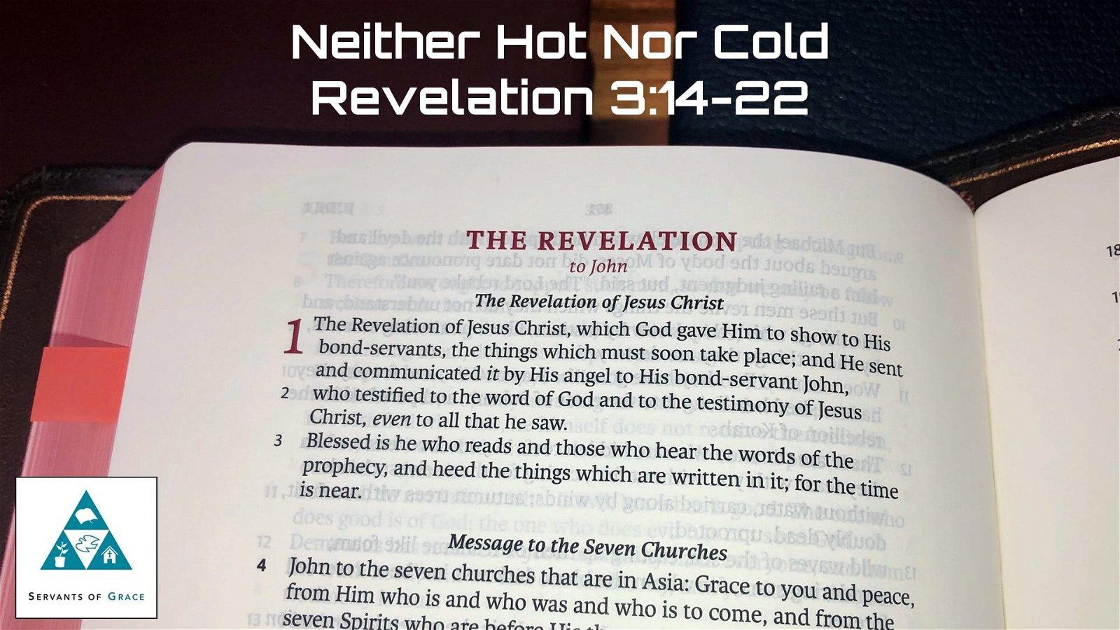 #15: Neither Hot Nor Cold[Sermon] 1