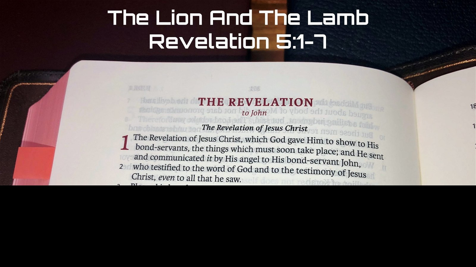 #18: The Lion and the Lamb[Sermon] 1