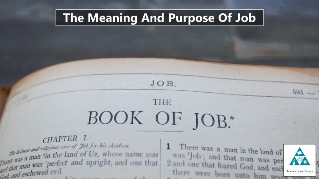 The Meaning And Purpose Of Job 1