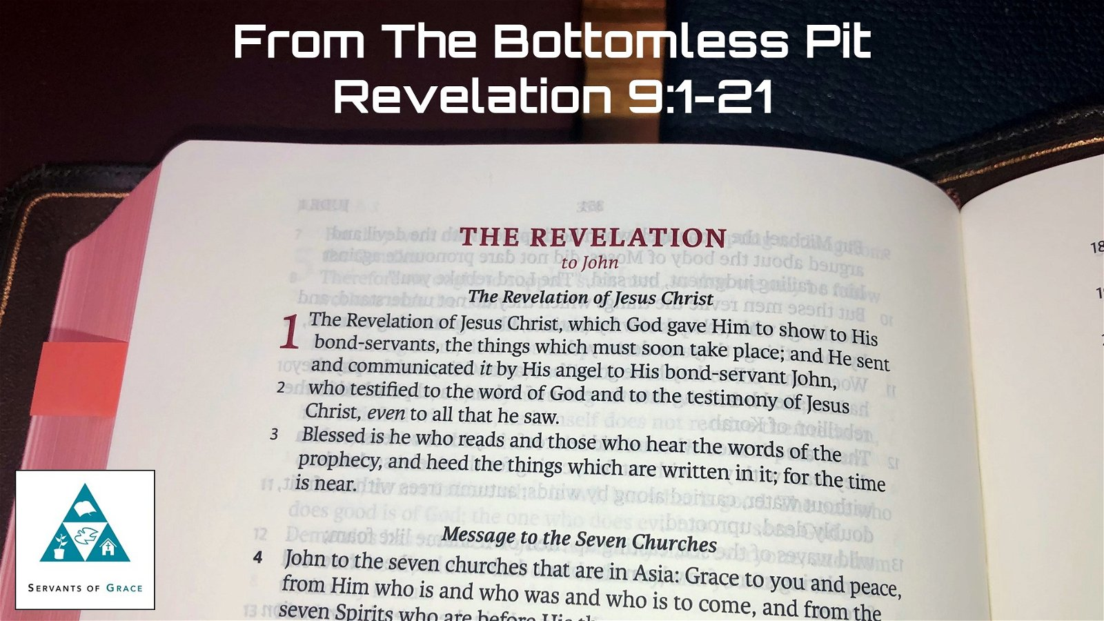 #27: From the Bottomless Pit[Sermon] 1