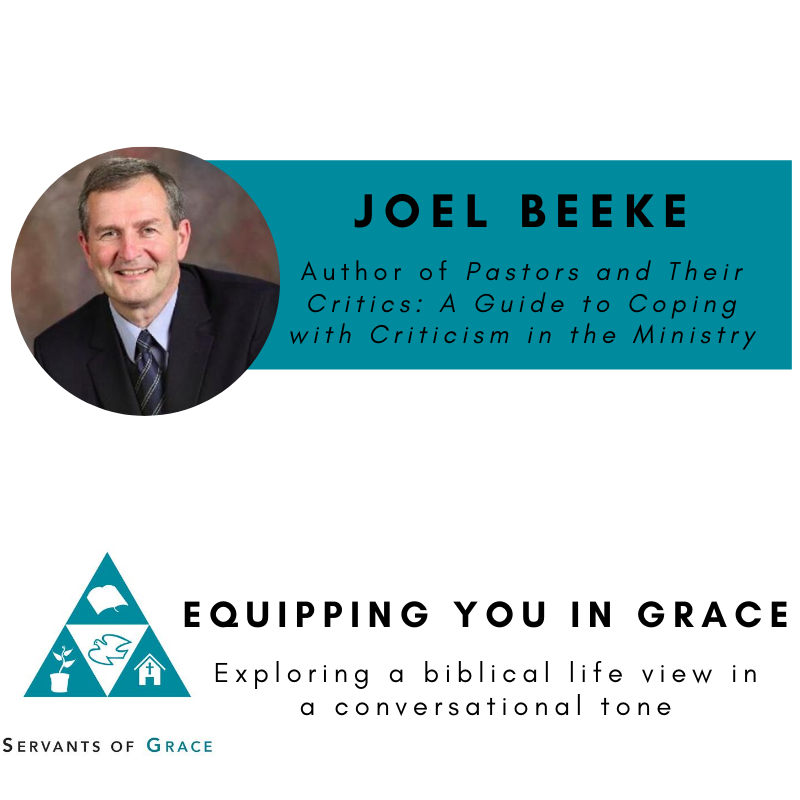 Joel Beeke- Pastors and Their Critics A Guide to Coping with Criticism in the Ministry