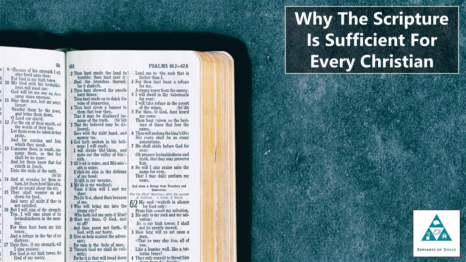 Servants of Grace Theology Segment 105