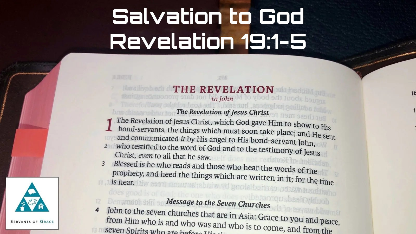 Salvation to God 1