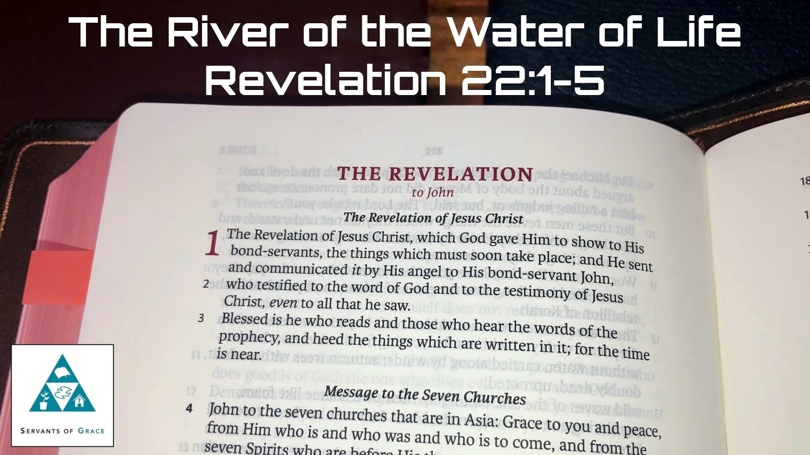The River of the Water of Life 1