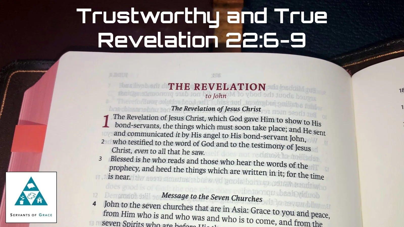 Trustworthy and True 1